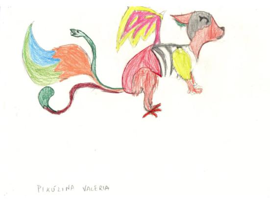 Monster-PikulinaValeria-w, das Original als Vorlage zur Monsterzeichnung